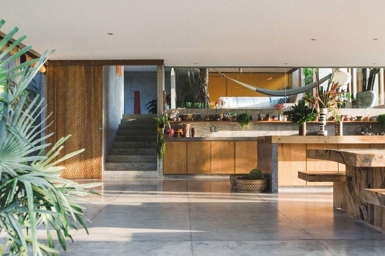 Rumah tropis di Bali karya Patisandhika dan Daniel Mitchell.