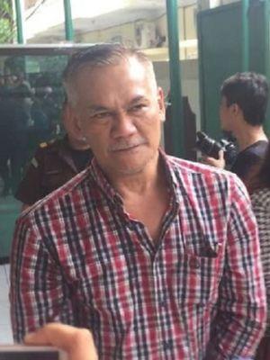 Tio Pakusadewo di Pengadilan Negeri Jakarta Selatan, Ampera Raya, Senin (21/5/2018).