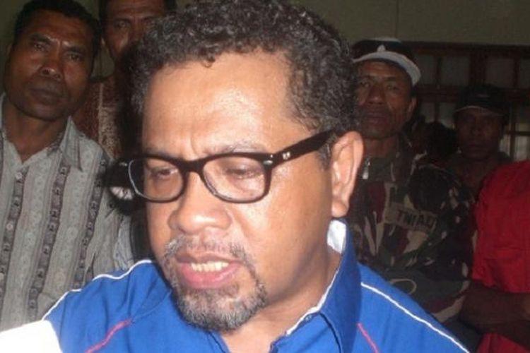 Ketua Umum DPP Uni Timor Aswain (wadah bagi warga eks Timor Timur) Eurico Guterres.