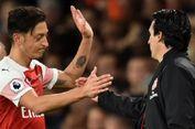 Unai Emery Tegaskan Mesut Oezil Tidak Akan Pergi dari Arsenal