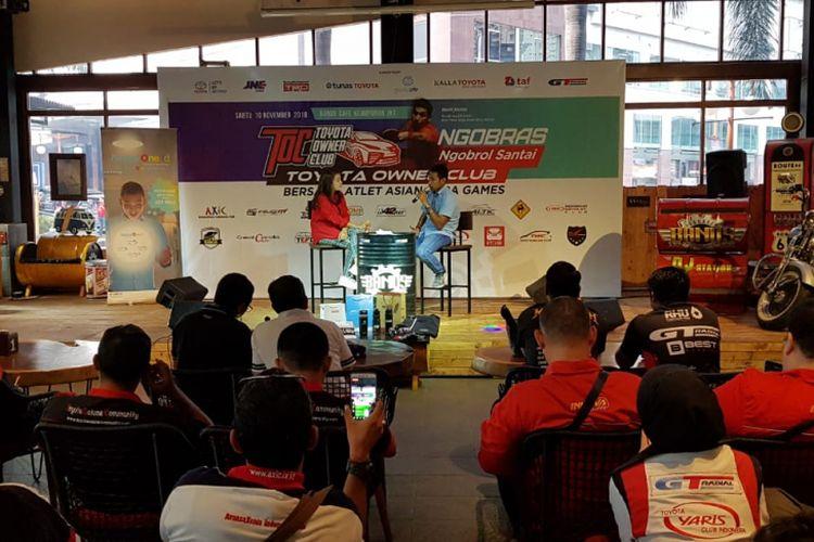 Toyota Owner Community rayakan hari Pahlawan dengan Ngobrol Bareng Atlet Asian Para Games untuk menjadi inspirasi positif dan pantang menyerah