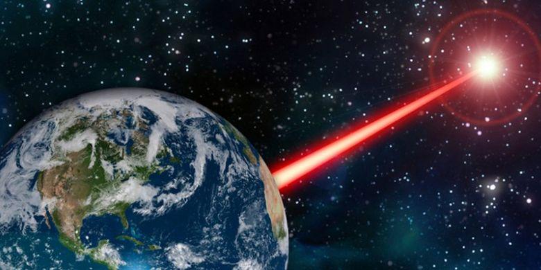 Ide baru, ilmuwan rencanakan menembakkan laser dari Bumi untuk cari perhatian alien