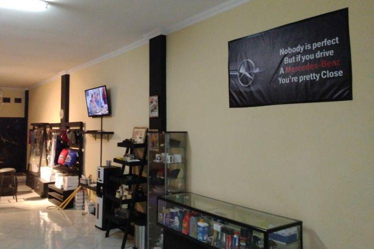 Men in Benz, bengkel khusus Mercy di Cibubur