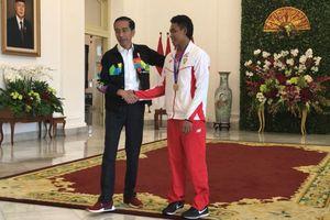 Jokowi Ajak Zohri Jalan-jalan di Istana Presiden Bogor