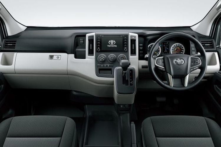 Interior Toyota Hiace baru