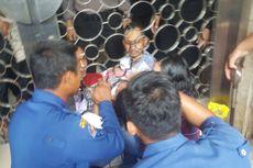 Kepala Anak Kecil Tersangkut di Pagar Masjid Istiqlal