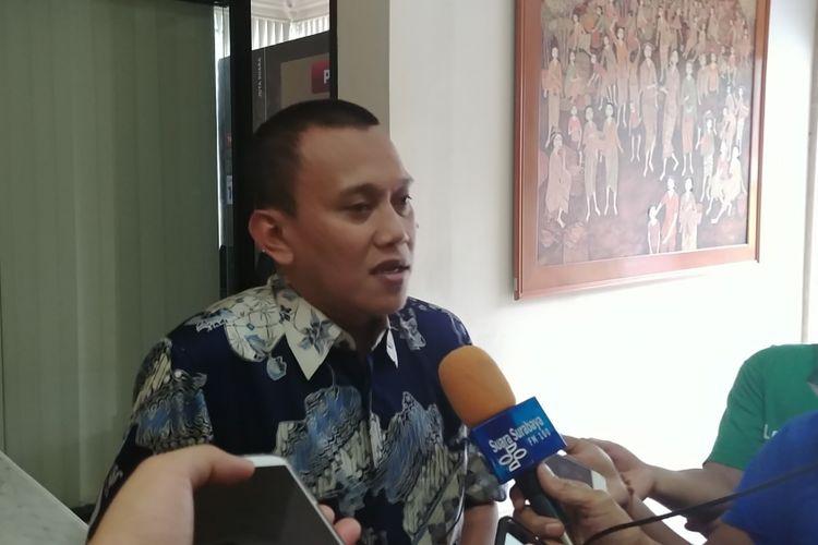 Sekjen PKB Abdul Kadir Karding di Kantor DPP PKB, Selasa (31/10/2017).