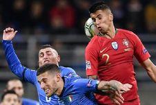 Hasil UEFA Nations League, Italia Vs Portugal Imbang Tanpa Gol