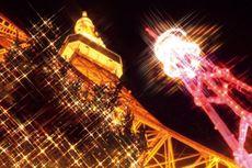 Indahnya Iluminasi yang Mewarnai Tokyo Tower dan Tokyo Sky Tree
