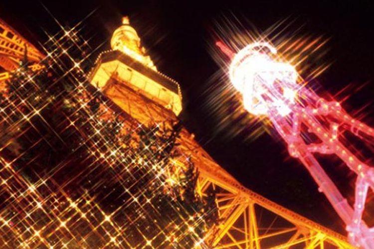 Setiap musim dingin Menara Tokyo ini selalu dipenuhi pengunjung karena diadakan berbagai event dan ilumimasi cahaya. Festival diselenggarakan hingga 28 Februari 2018.