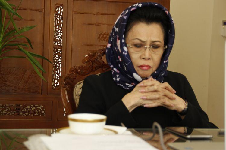 Amelia Achmad Yani pada 30 Oktober 2017 pagi menjalani kegiatannya di Wisma Indonesia Sarajevo, tempat tinggalnya sebagai Duta Besar Republik Indonesia untuk Bosnia dan Herzegovina.
