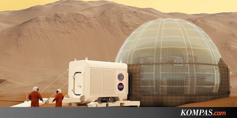 Siapa Orang Pertama yang Akan Mendiami Mars? Ini Jawaban Elon Musk - Kompas.com