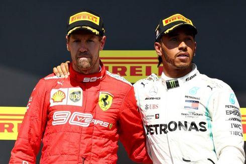 Klasemen F1 Usai GP Kanada, Hamilton Unggul atas Bottas-Vettel