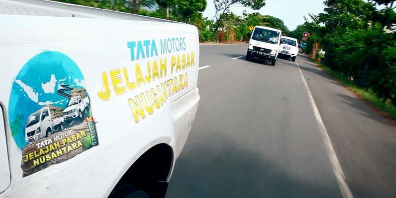 Tata Jelajah Pasar Nusantara 2018 akhirnya tiba di Jakarta setelah menempuh perjalanan dari Aceh
