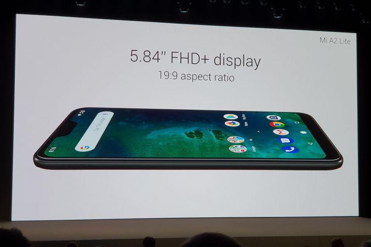 Xiaomi Mi A2 Lite mengandalkan Snapdragon 625 di sektor dapur pacu yang dipadukan dengan RAM 3