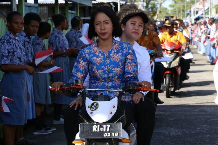 Cerita Menteri Puan tentang Beratnya Menempuh Perjalanan ke Asmat