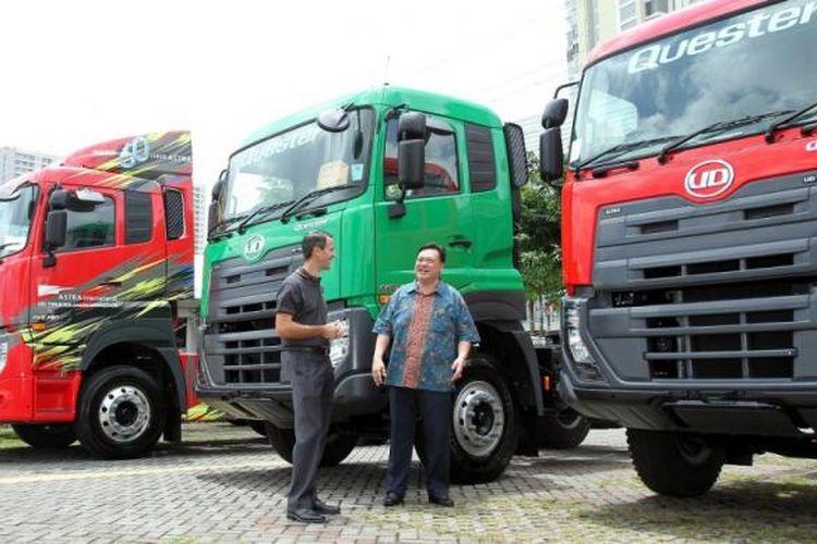 UD Trucks memberi kesempatan konsumen SUrabaya menjajal Quester.