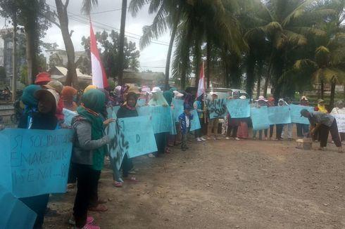 Solar Langka, Petambak Perempuan Dipasena Datangi Polsek Rawajitu Lampung