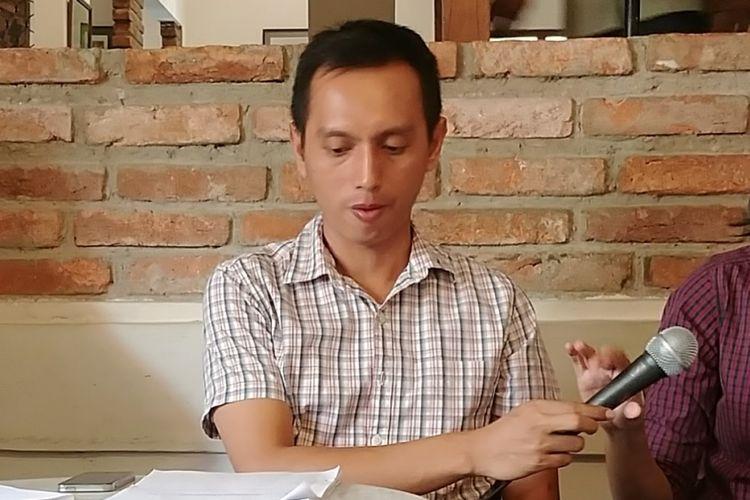 Direktur Eksekutif Imparsial Al Araf di Jakarta, Senin (17/7/2017).