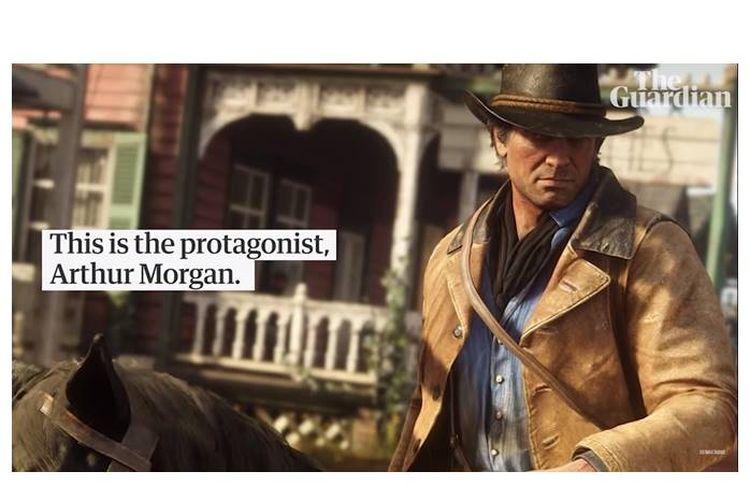 Red Dead Redemption 2 memiliki jalan cerita tentang kemerosotan hidup, ketika sekelompok kecil penjahat mencoba lebih keras untuk mengalahkan kemajuan modernitas Amerka yang berjalan apa adanya.
