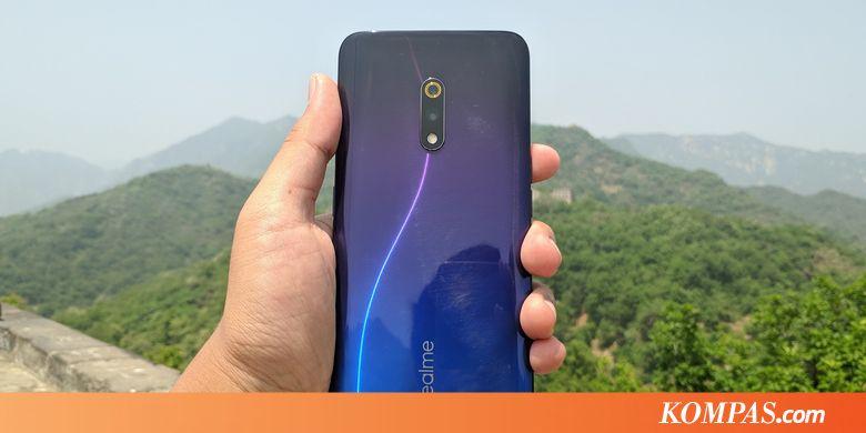 """Hands-on"" Smartphone Realme X yang Bakal Masuk Indonesia"
