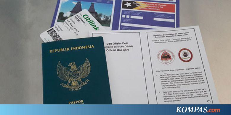 Image Result For Ganti Paspor Cukup Lampirkan E Ktp Dan Paspor Lama