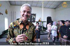 Ganjar Pranowo Takjub Melihat Tarian di Resepsi Pura Pakualaman
