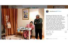 Boediono Jenguk Ani Yudhoyono