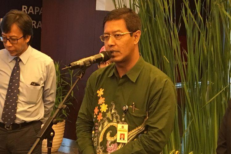 Direktur Penyuluhan, Pelayanan, dan Humas Direktorat Jenderal Pajak Hestu Yoga Saksama
