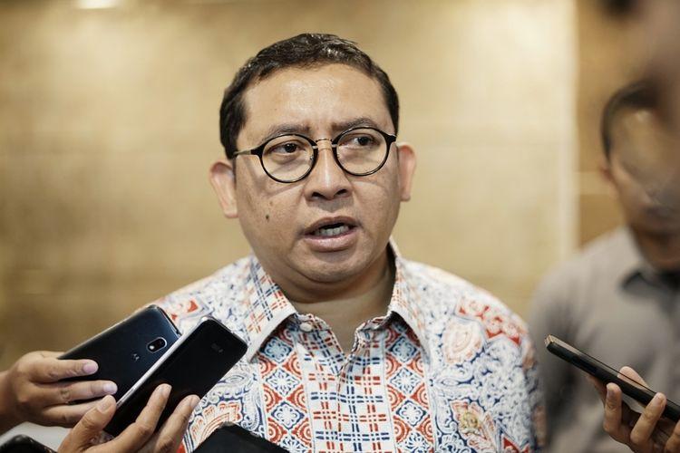 Anggota Dewan Pengarah Badan Pemenangan Nasional pasangan Prabowo Subianto-Sandiaga Uno (BPN) Fadli Zon