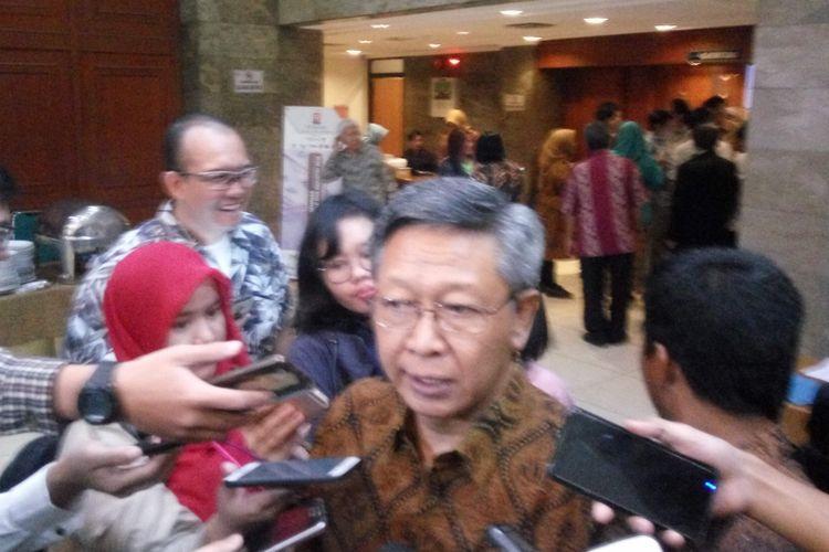 Staf Ahli Menteri Perindustrian Bidang Peningkatan Penggunaan Produk Dalam Negeri Imam Haryono di Jakarta, Kamis (31/1/2019).
