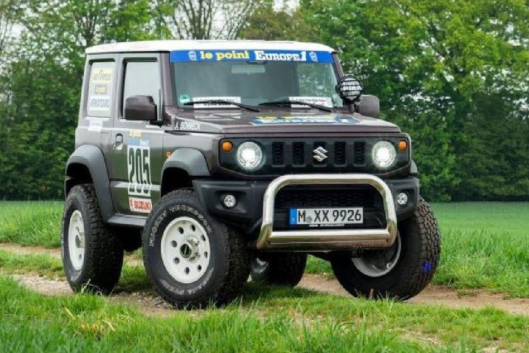 Modifikasi Rally Dakar di Jimny terbaru