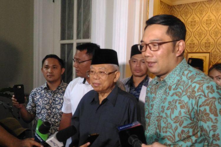 Gubernur Jawa Barat Ridwan Kamil di Rumah Situbondo, Menteng, Jakarta Pusat, Selasa (12/2/2019).