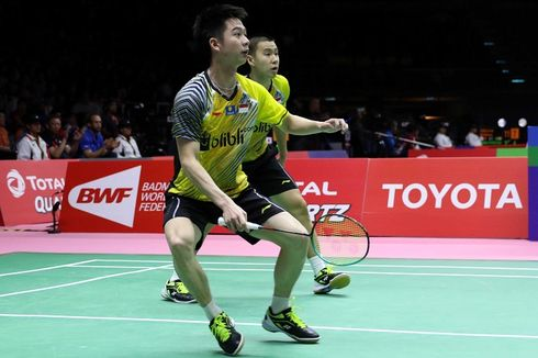 BWF World Tour Finals 2018, Marcus/Kevin Dikalahkan Wakil China