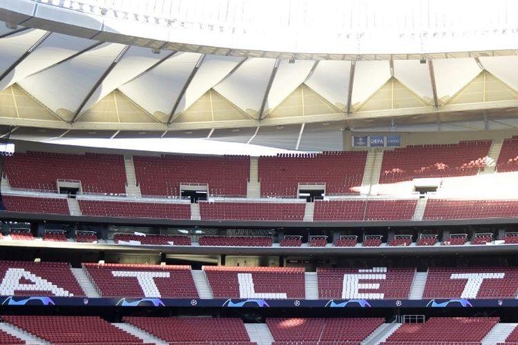 Markas Atletico Madrid, Stadion Wanda Metropolitano, akan menjadi tempat partai puncak alias final Liga Champions 2018-2019 pada Sabtu (1/6/2019).
