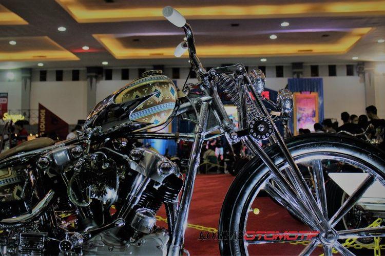 Chopper Queen Lekha di Kustomfest 2018