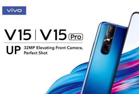 Vivo V15 Pro Usung Kamera Selfie 'Pop-up' 32 Megapiksel