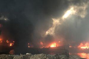Kebakaran di Pelabuhan Muara Baru Meluas, 15 Kapal Kini Hangus