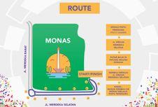 Besok, Dishub Lakukan Rekayasa Lalin di Monas