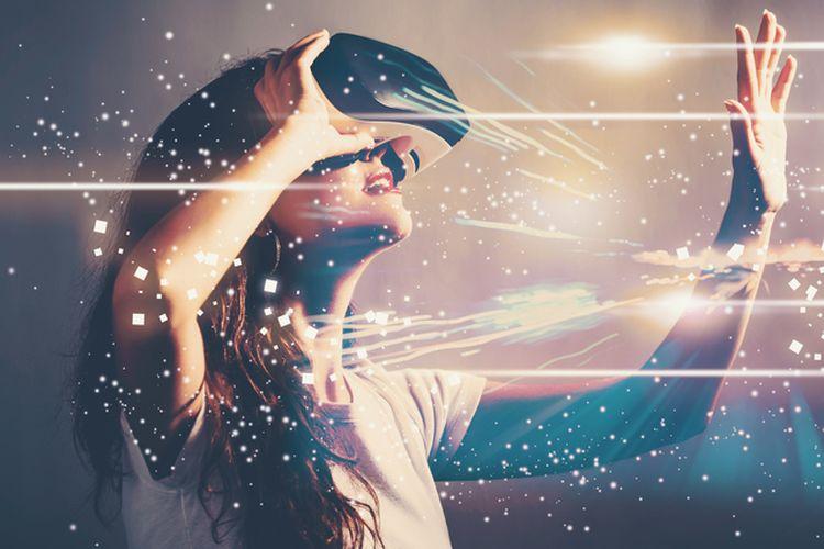 Ilustrasi game VR