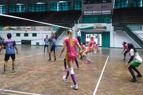 Demi Efisiensi, Tim Putri Gresik Petrokimia Gunakan Pelatih Lokal