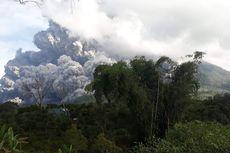 5 Fakta Bencana Hujan Abu Gunung Sinabung, Ganggu Ujian Siswa SD hingga Warga Kekurangan Air Bersih