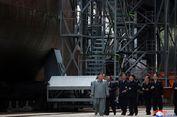 Kim Jong Un Kunjungi Proyek Pembangunan Kapal Selam Korut