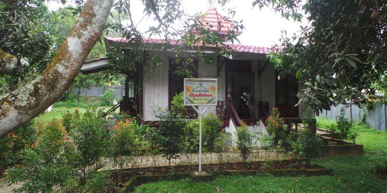 Rumah Batik Andalan di Riau