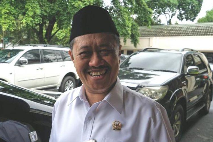 Ketua Komisi Yudisial Aidul Fitriciada Azhari saat ditemui di kantor Kemenko Polhukam, Jakarta Pusat, Jumat (3/2/2017).