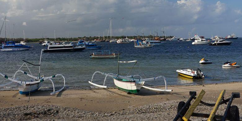 Pulau Serangan di Sore Hari...