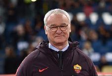 AS Roma Vs Empoli, Claudio Ranieri Semringah Raih Kemenangan