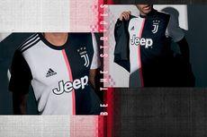 Jersey Baru Juventus, Corak Hitam Putih Berubah Drastis