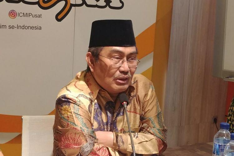 Ketua Umum ICMI: Ada Harapan Rekonsiliasi Pasca-pilpres Segera Terjadi