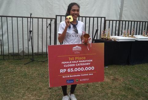 Tips Odekta Dua Kali Menangi Borobudur Marathon